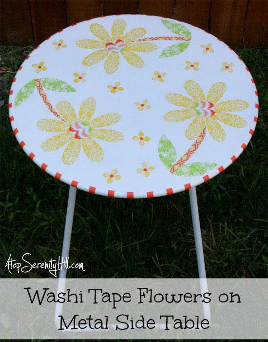 washiflowerfoldingtable