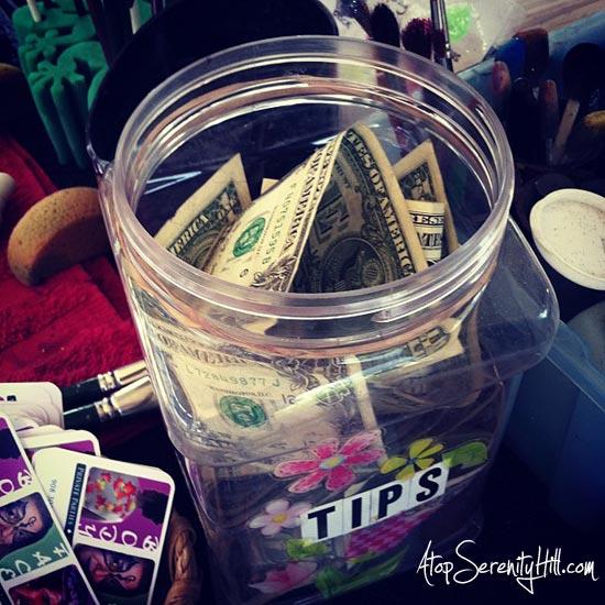 grateful for a full tip jar