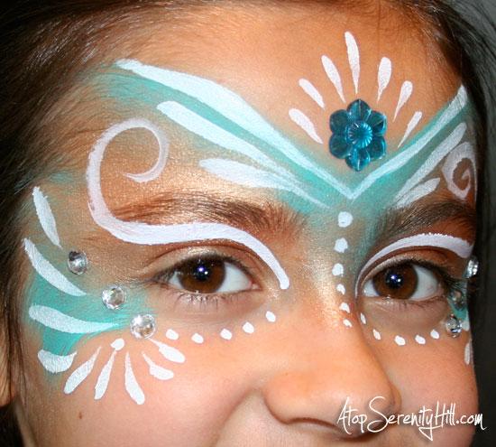 princessfacepainthighlights