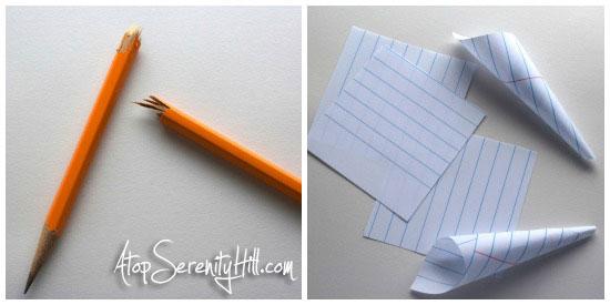 pencilpaperschoolwreathCollage