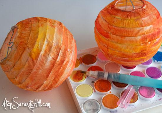 watercoloronpaperlanterns