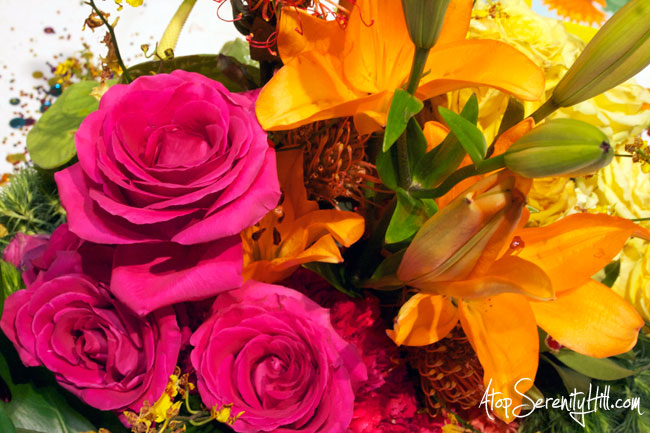 A peek inside the Philadelphia Flower Show • AtopSerenityHill.com #photography #roses #lilies