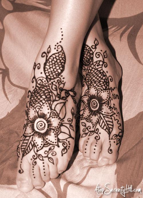 HennaFeet