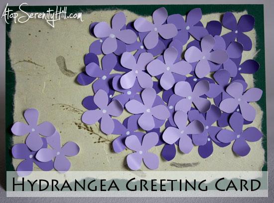 hydrangeagreetingcard