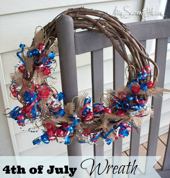4thofJulyburlapcurlingribbonwreath