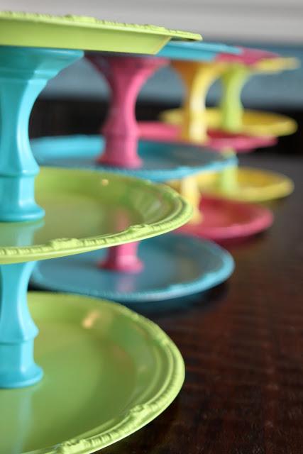 colorfulcakeplates