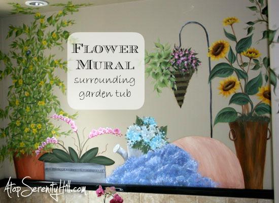 flowermuralforgardentub