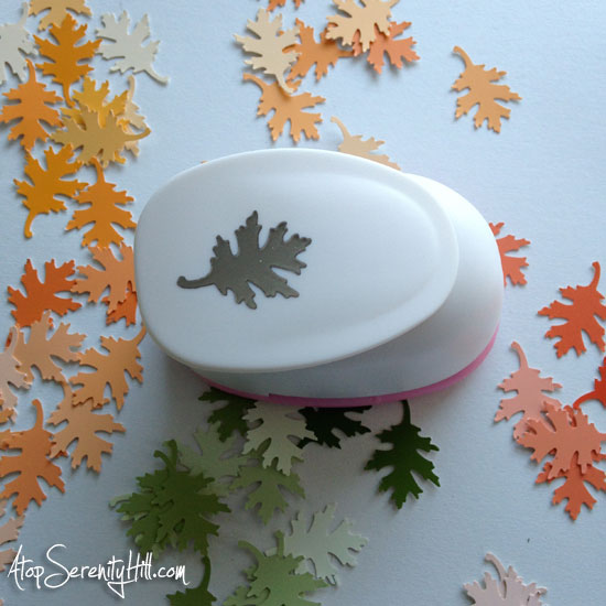 leaf_paper_punch_paint_chips