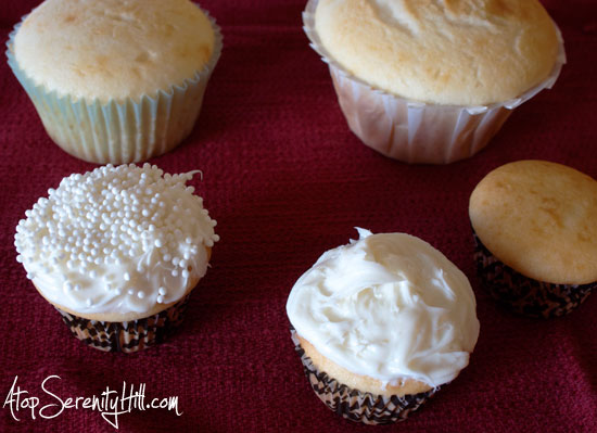 Snowflake cupcake toppers • AtopSerenityHill.com